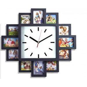 Marco reloj de pared - Marca las horas con tus mejores fotos