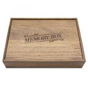 Caja de recuerdos de madera para tus mejores memorias