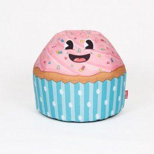 Puff infantil cupcake – un dulce asiento para los niños