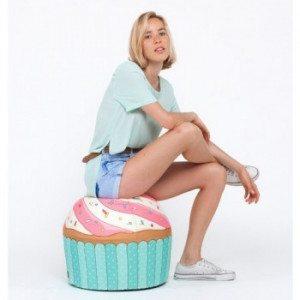 Puff Cupcake – el puff más divertido llega ahora a tu casa