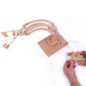 Brazo de robot hidráulico – construye tu propio robot en casa