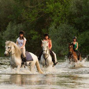 Ruta a caballo por la Ribera del Río Tormes para niños - Salamanca