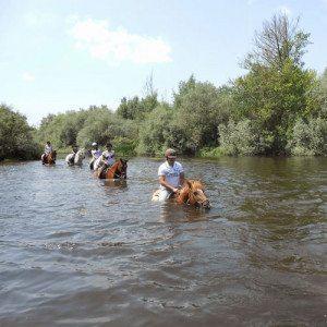 Ruta a caballo por la Ribera del río Tormes - Salamanca