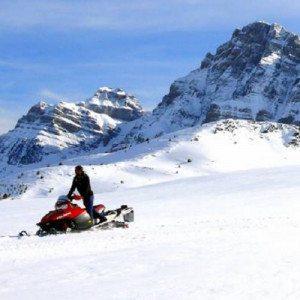 Ruta en 4x4 y moto de nieve biplaza - Huesca