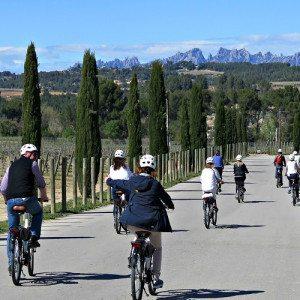 Ruta en bicicleta y degustación de Cava - Barcelona