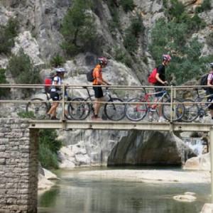 Mountain Bike por Tierras del Ebro en grupo - Tarragona