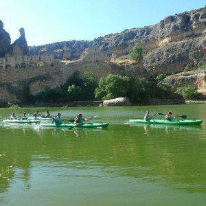 Ruta en piragua para niños por las Vencías - Segovia