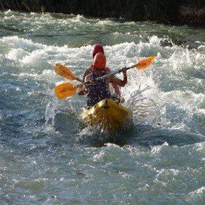 Ruta en bici y canoa en aguas bravas - Valencia