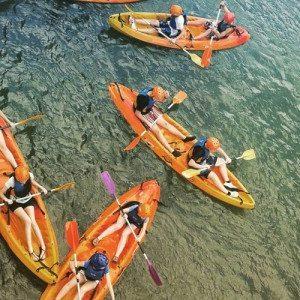 Ruta guiada en Bike y descenso en canoa por aguas tranquilas - Valencia