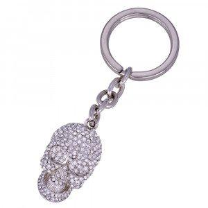 Schlüsselanhänger Diamond Skull
