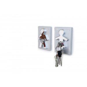 Colgador de llaves Ella y Él | Regalo para toda la familia