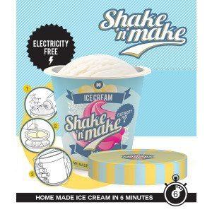 Shake & Make - Die Eismaschine für Unterwegs