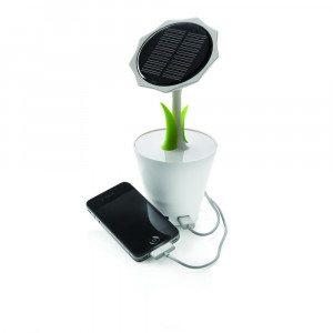 Cargador solar girasol - Aprovecha toda la energía del sol