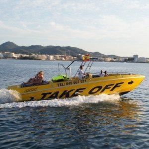 Speed Boat con Puesta de Sol - Ibiza