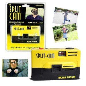 Split-Cam junta 2 imágenes en una sola foto
