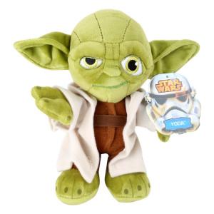 Star-Wars Peluche de Yoda - Para que la fuerza te acompañe