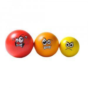 Bolas antiestrés - Pack de 3 bolas para diferentes niveles de enfado