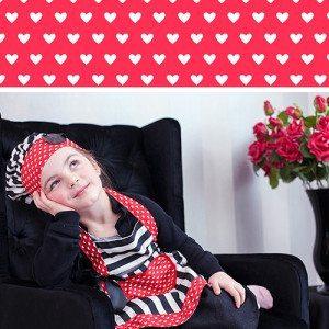Süßes Schürzenset für Kinder