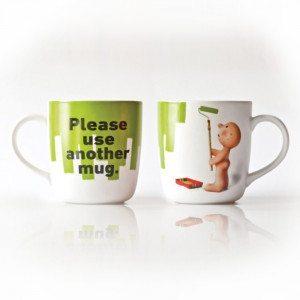 Taza Mr. P Please use another Mug