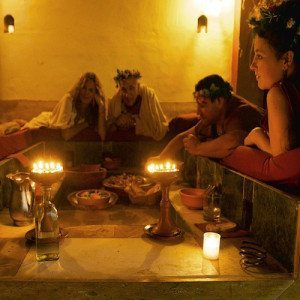 Termas y degustación de cocina romana para dos - Badajoz