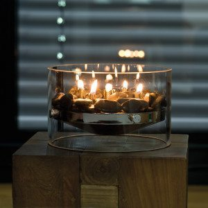 Chimenea de mesa - Calor  de diseño para tu hogar