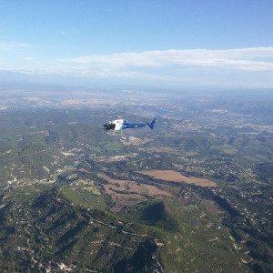 Tour en helicóptero por Barcelona y Montserrat