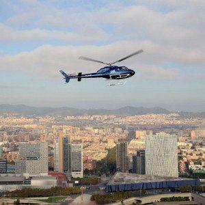 Tour en helicóptero por los lugares más emblemáticos de Barcelona