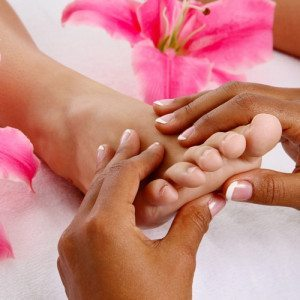 Tratamiento hidratante para pies con masaje - Madrid