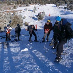 Travesía con raquetas de nieve - Castellón