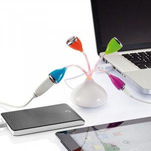 """USB-Hub """"Flower"""""""