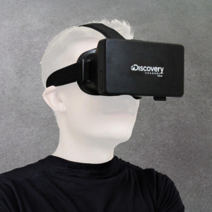 """Virtual-Reality-Brille """"Discovery Channel"""""""