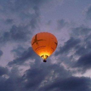 Vuelo en globo sobre Burgos