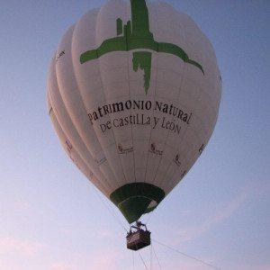 Vuelo en globo sobre Valladolid