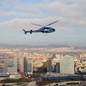 Vuelo en helicóptero por la costa de Barcelona