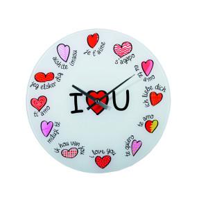 Reloj de pared multilingüe I Love you