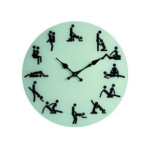 Wall clock kamasutra