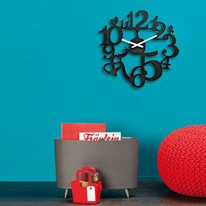 Reloj de pared PI:P con divertidos animalitos