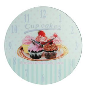 """Reloj de pared """"Madgalenas"""" – el reloj más dulce para tu cocina"""