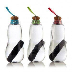 Botella de agua con filtro de Black + Blum - Eco y práctico
