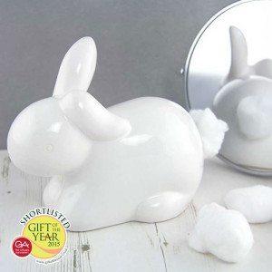 Dispensador de algodón Conejito – decora tu baño o tocador