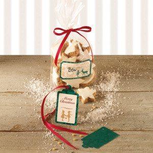 Bolistas de regalo para galletas navideñas
