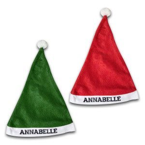 Gorro Papá Noel – Personalizable con tu nombre