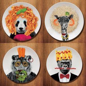 Wild Dining - Platos para fiestas salvajes
