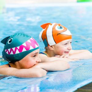 Gorro de piscina para niños