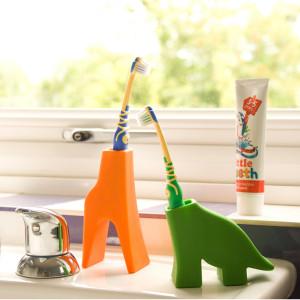 Porta-cepillo de dientes - Con forma de animalitos