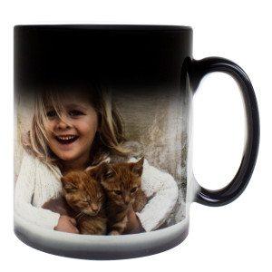 Taza mágica con foto personalizable - ¡Sorpresa!