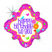 "BIRTHDAY FRESH FLOWERS 46 CM/ 18 "" HOLO"