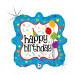 "BIRTHDAY PARTY DECO 46 CM/ 18 "" HOLO"