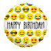 """EMOJI HAPPY BIRTHDAY 46 CM/18 """""""