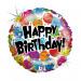 "PARTY HAPPY BIRTHDAY 46 CM/ 18 "" HOLO"